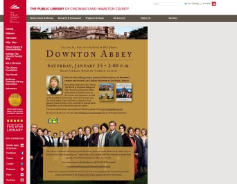 Downton Abbey Author Visit Webpage