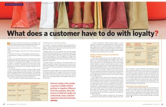 Loyalty Management Article