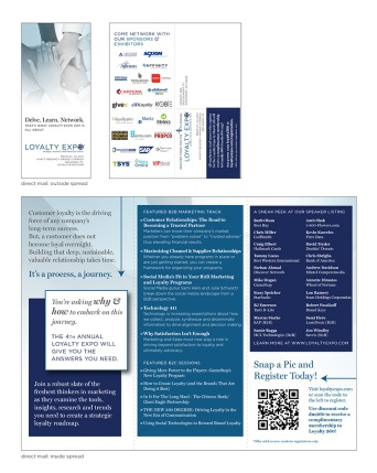 Loyalty Expo Informational Mailer