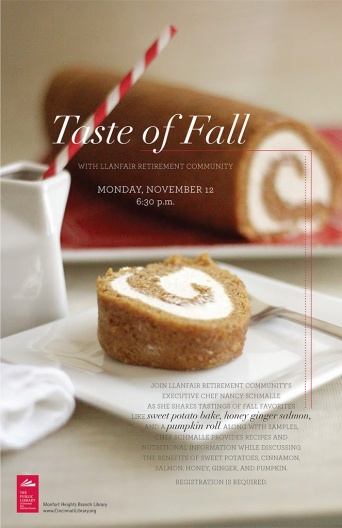 Taste of Fall Program Poster